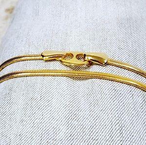Vintage Gold Stretchy Belt XXS Cleopatra Costume